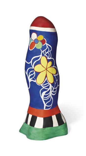 Niki de Saint Phalle-Obelisque fleurs-1987