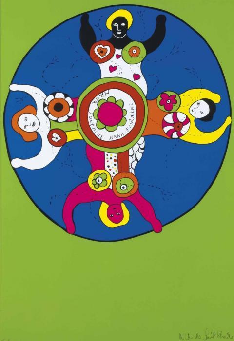 Niki de Saint Phalle-Nana Fontaine-1979