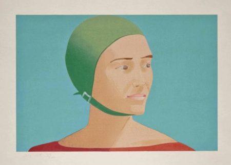 Alex Katz-The Green Cap (Schroder 186)-1985