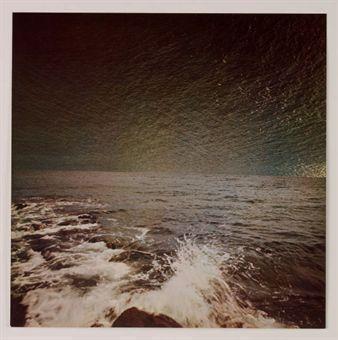 Gerhard Richter-Meer (Sea)-1973