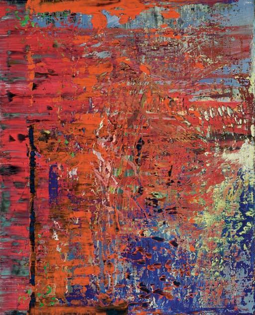 Gerhard Richter-Abstraktes Bild 630-1 (Abstract Painting 630-1)-1987