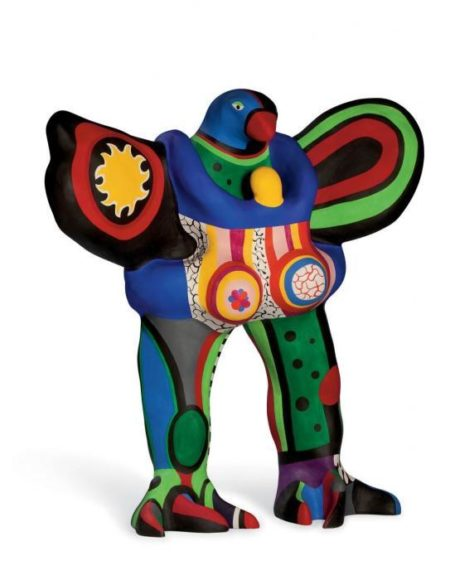Niki de Saint Phalle-L'oiseau amoureux (soleil)-1990