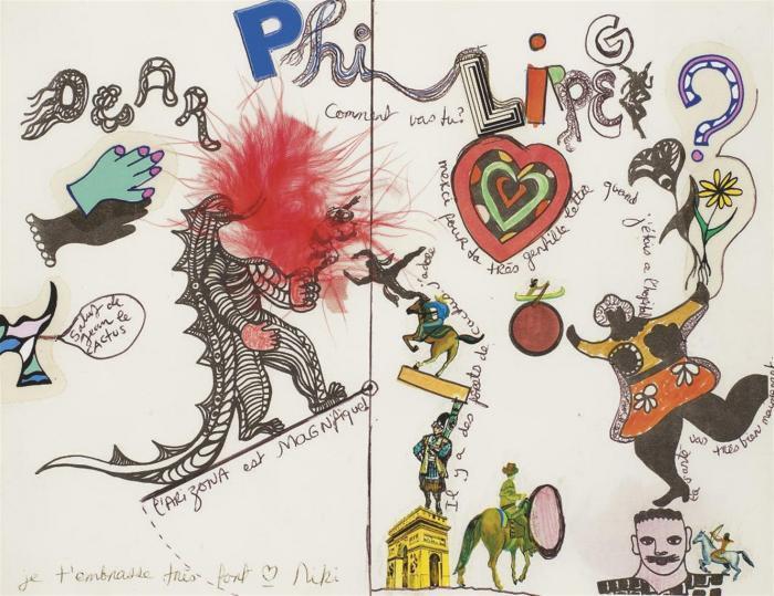 Niki de Saint Phalle-Dear Philippe, Comment vas-tu-
