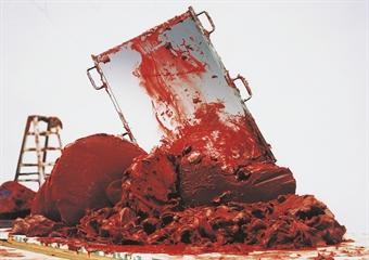 Anish Kapoor-Red Homeland-2007