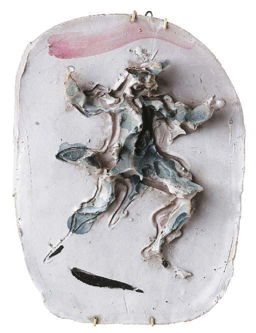 Lucio Fontana-Arlecchino-1956