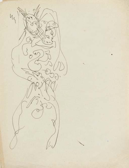 Lucio Fontana-Studio per Panoplia-1950