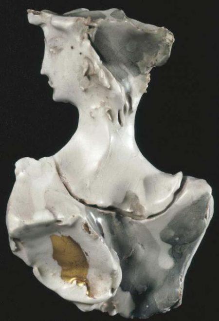Lucio Fontana-Busto di donna-1955