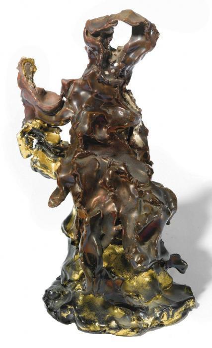 Lucio Fontana-Figura allo specchio-1948