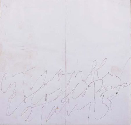 Cy Twombly-Colosseo-1958
