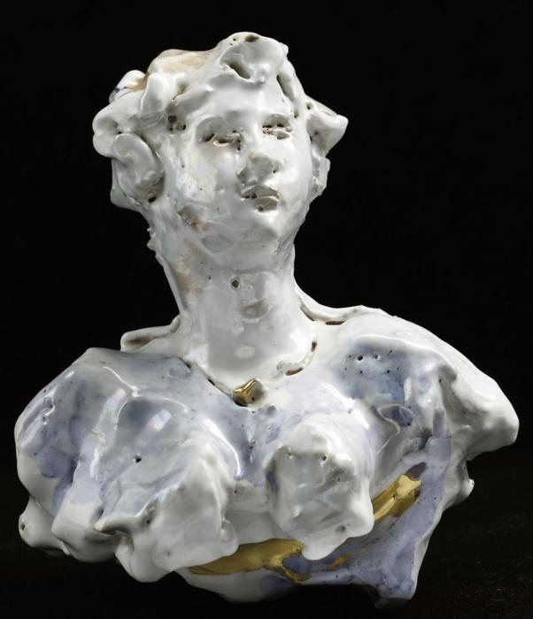 Lucio Fontana-Ritratto della signora Grazioli-1955
