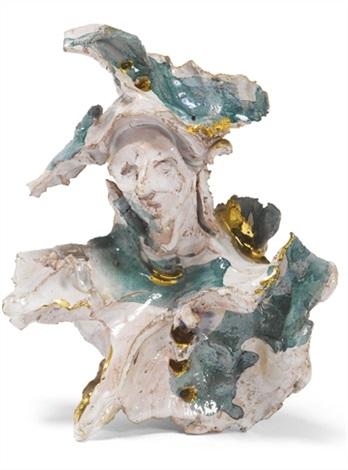 Lucio Fontana-Busto con cappello a tricorno-1955