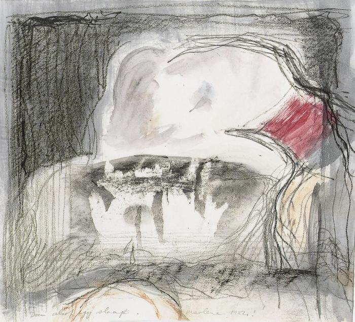 Marlene Dumas-Doen Alsof Jij Slaapt-1984