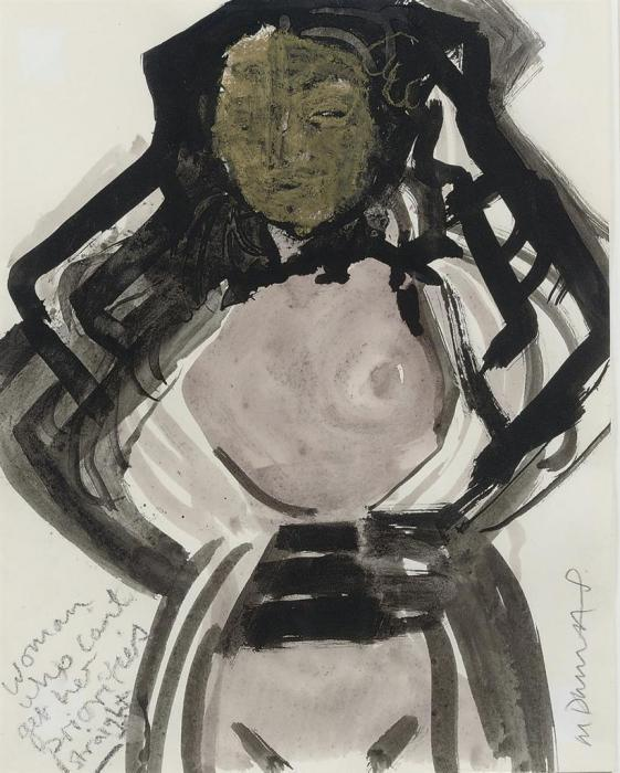 Marlene Dumas-Woman Who Can't Get Her Priorities Straight-