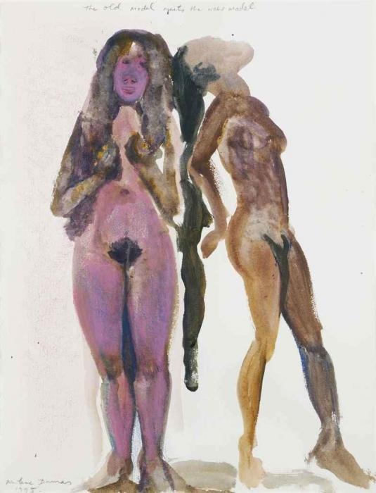 Marlene Dumas-The Old Model Meets The New Model-1995