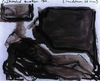 Marlene Dumas-Cultivated Emotion-1986