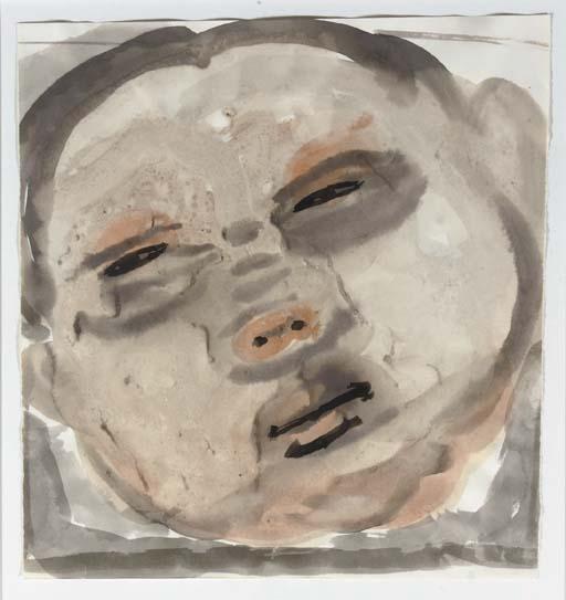 Marlene Dumas-Baby-1986