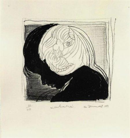 Marlene Dumas-Incubatie-1991