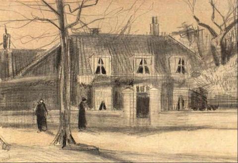 Vincent van Gogh-Scheveningseweg-1882