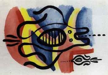 Keith Haring-Keith Haring - Fish-