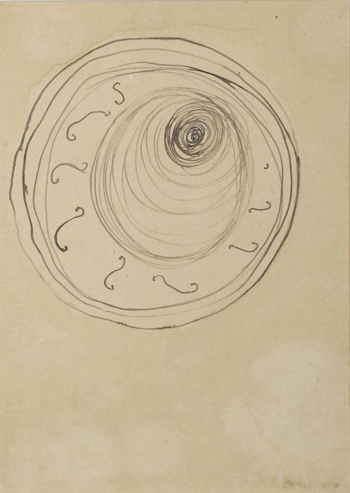 Lucio Fontana-Ambiente spaziale-1950
