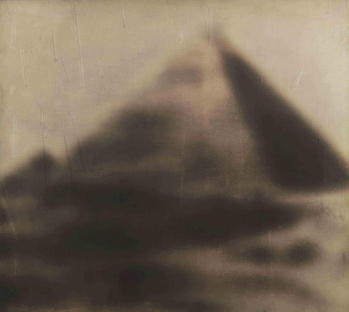 Gerhard Richter-Pyramide (Pyramid)-1966