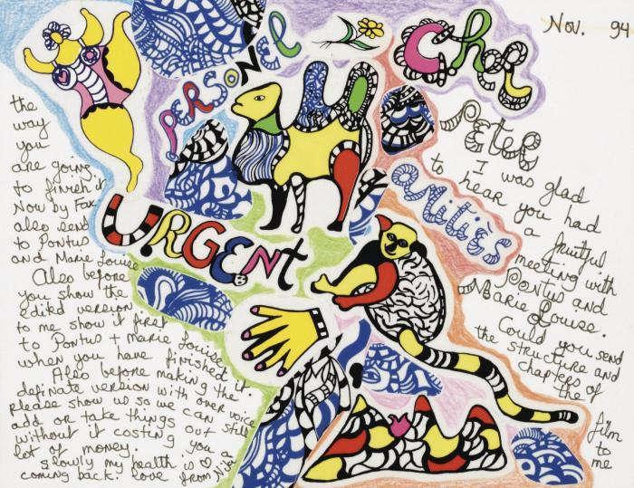 Niki de Saint Phalle-Cher Peter-1994