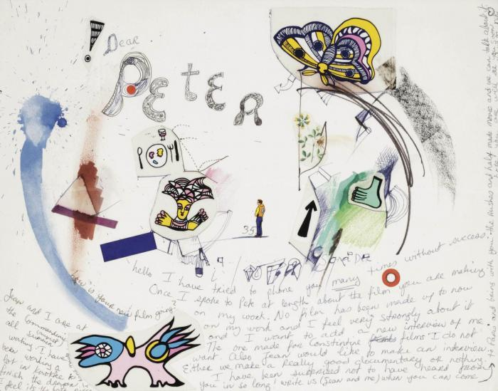 Niki de Saint Phalle-Dear Peter, how is your new film going-
