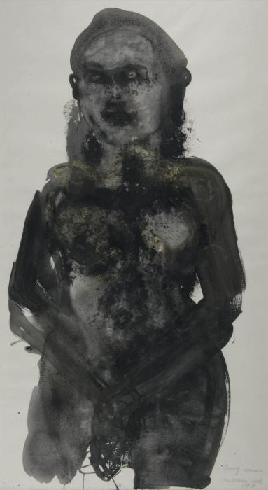 Marlene Dumas-Heavy woman-1997