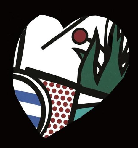 Roy Lichtenstein-A Valentine-1993