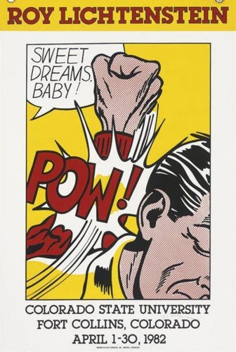 Roy Lichtenstein-Colorado State University; 25th Anniversary-James Goodman Gallery; Dessins de Lichtenstein-Knock Knock; Leo Castelli Hand Shake-