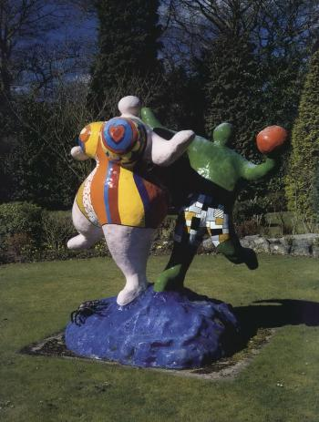 Niki de Saint Phalle-Les baigneuses-1984