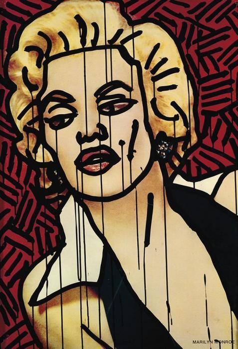 Keith Haring-Keith Haring - Marilyn-1981