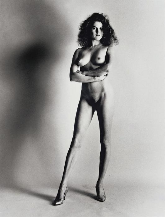 Helmut Newton-Big Nude II, Paris (1980)-1980