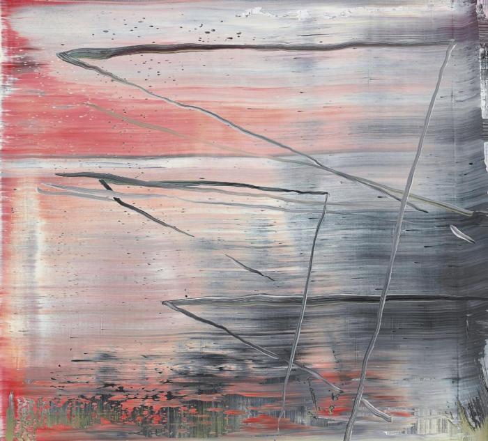 Gerhard Richter-Abstraktes Bild 848-6 (Abstract Painting 848-6)-1998