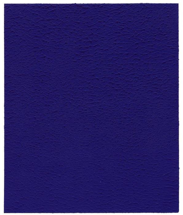 Yves Klein-Monochrome bleu (IKB)-1960