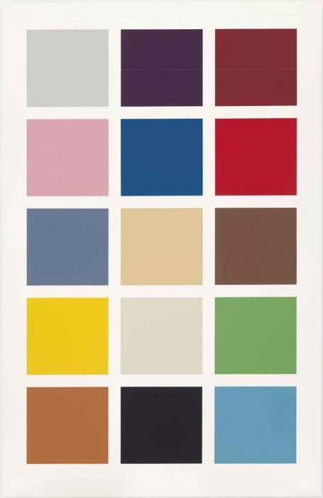Gerhard Richter-15 Farben (15 Colours)-1996