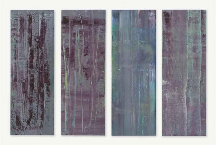 Gerhard Richter-Abstrakte Bilder 760-1,2,3,4-1992