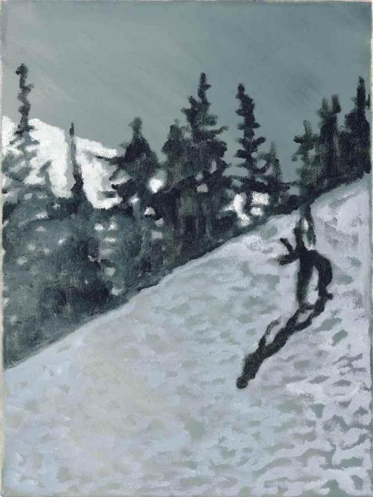 Peter Doig-Snowboarder-1996