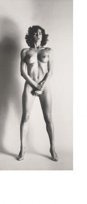 Helmut Newton-Big Nude III, Paris, 1980 (1982)-1980