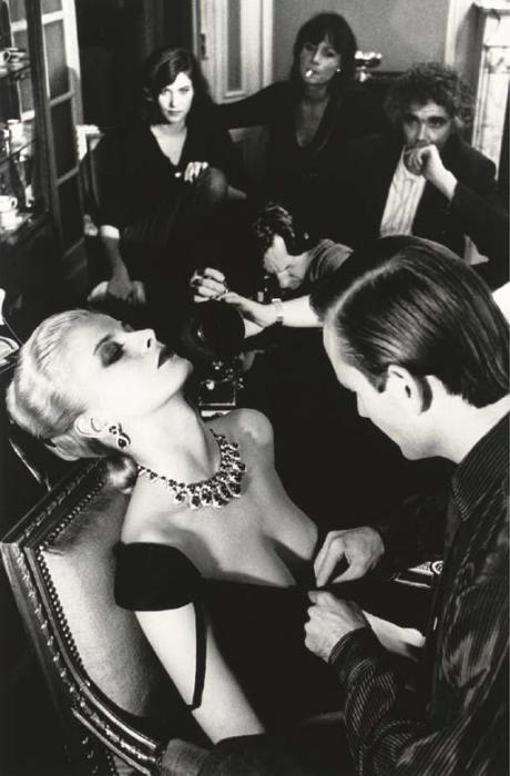 Helmut Newton-Givenchy & Bulgari, French Vogue (1980)-1981