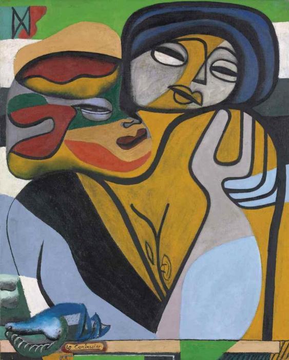 Le Corbusier-Les deux soeurs-1938