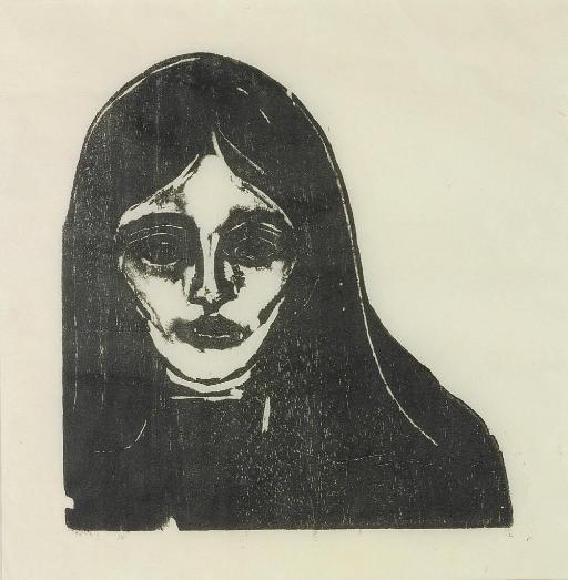 Edvard Munch-Rouge et Noir / Rouge & Noir / Rot und Schwartz) (W. 131; S. 115)-1898