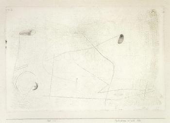 Paul Klee-Psychogramm Mit Dem Fuss-1930