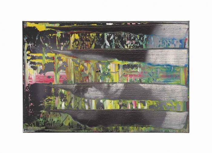 Gerhard Richter-Abstraktes Bild 716-7 (Abstract Painting 716-7)-1990