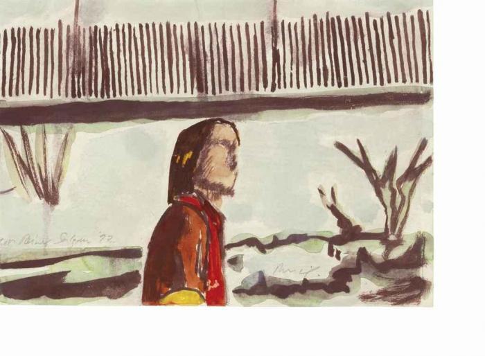 Peter Doig-Untitled (Ken Reiner Salzan)-1997
