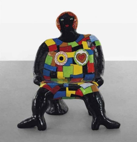 Niki de Saint Phalle-Clarisse chaise femme-1982