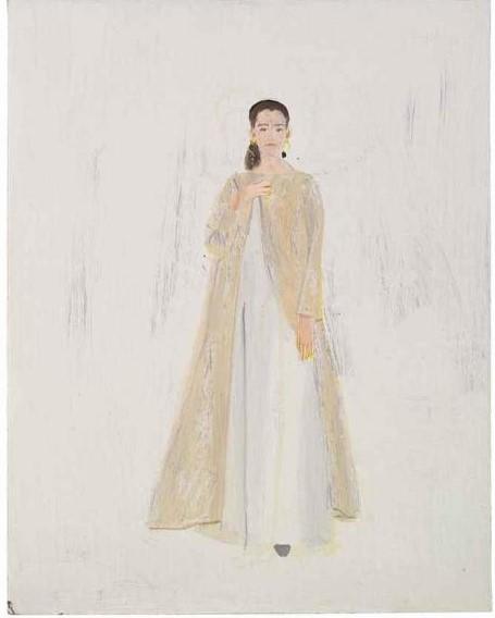 Alex Katz-Wedding dress-1992