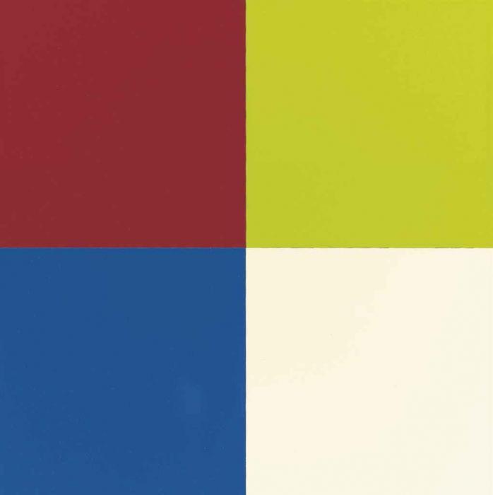 Gerhard Richter-Quattro Colori-2008