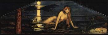 Edvard Munch-Havfruen (Mermaid)-1896