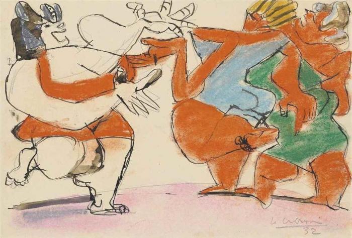 Le Corbusier-Trois femmes-1932